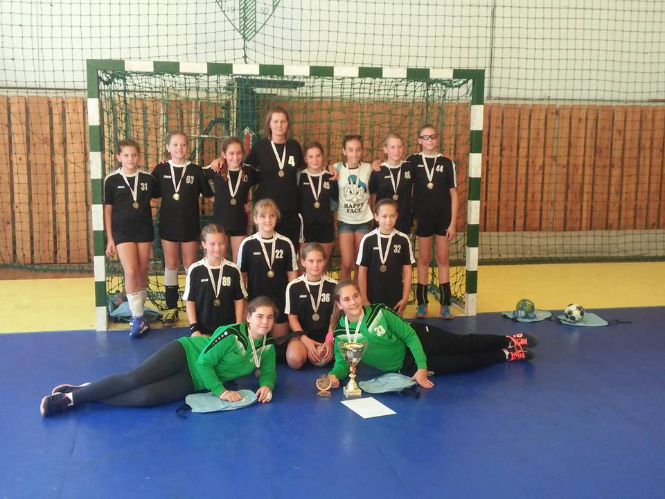 U11 győztes csapata!